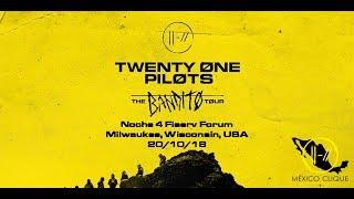 Twenty One Pilots - #TheBanditoTour Noche 4, Milwaukee 20/10/18 (Resumen)