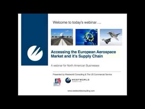Accessing The European Aerospace Market and Its Supply Chain