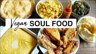 How To Make VEGAN SOUL FOOD (Tasty AF!)