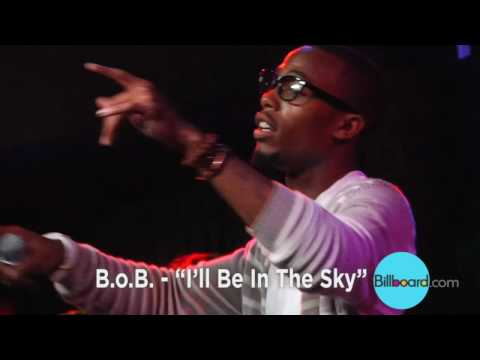 B.o.B. - I'll Be In The Sky LIVE