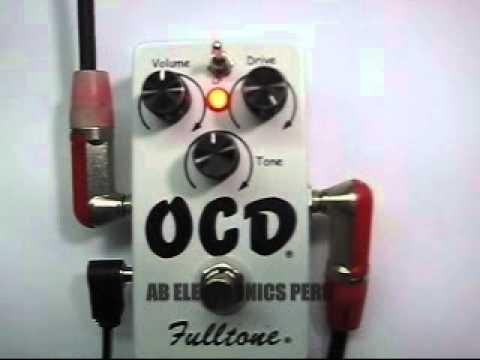 FULLTONE OCD - AB ELECTRONICS PERU