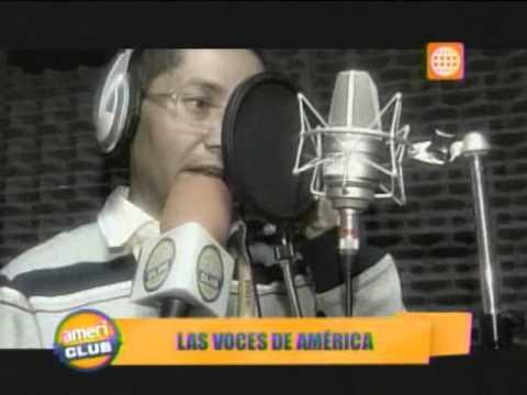 Americlub: Conozca a las 'voces' de América Televisión  220613
