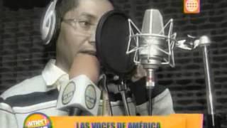 Americlub: Conozca a las 'voces' de América Televisión - 22/06/13