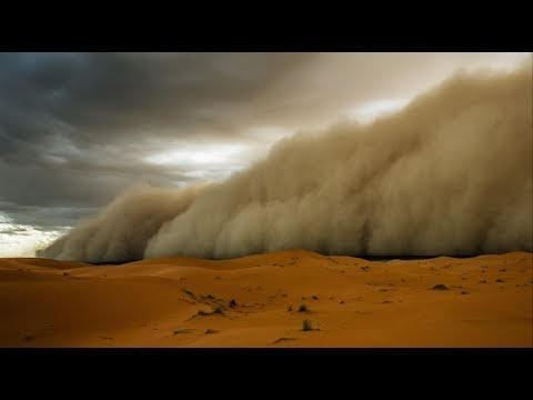 CRAZY SANDSTORM IN DUBAI !!! THIS IS THE BIGGEST BEEN RECORD