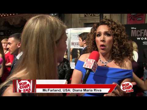 Diana Maria Riva @ The McFarland, USA Premiere