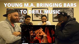 Young M A Off The Yak Offical Reaction