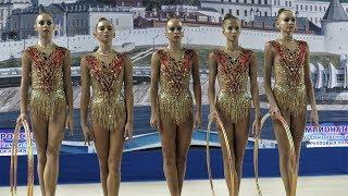Чемпионат России Казань 2017 по художественной гимнастике/Омская область Обручи