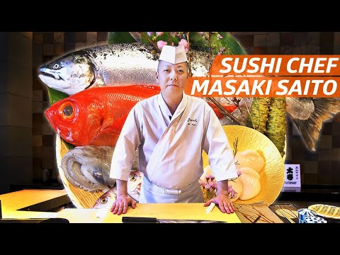 Chef Masaki Saitos Fish Aging Techniques Earned Him Two Michelin Stars  Omakase Sushi