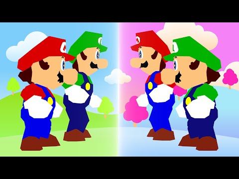 Mario And Luigi Travel To Parallel Universes