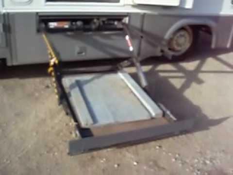 Handicap RV Wheelchair Lift - YouTube