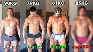 130 JOURS de SPORT et voici mon CORPS ! (Transformation Musculation)