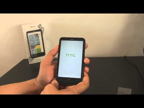 HTC HD7 First Boot