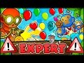 100% THE HARDEST EVER CHALLENGE IN BLOONS TD 5 YET!! (Bloons Tower Defense 5 COOP)