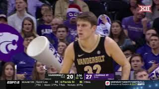 Kansas State vs. Vanderbilt Men's Basketball Highlights