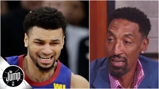 Scottie Pippen says Jamal Murray hasn't 'stepped his game up' in Nuggets vs. Spurs | The Jump