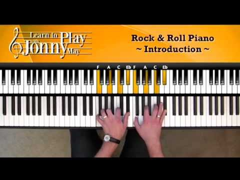 1950's Rock & Roll Piano - Lesson Demo by Jonny May