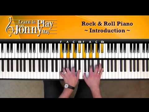 1950s Rock & Roll Piano  Lesson Demo  Jonny May
