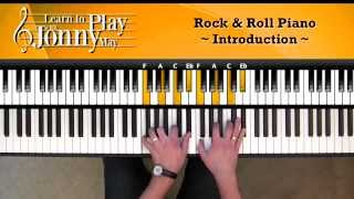 1950's Rock & Roll Piano - Lesson Demo by Jonny May(Want to learn the complete arrangement? Visit: http://pianowithjonny.com/products/1950s-rock-roll-piano-course/ If you enjoyed this video, check out the website ..., 2014-08-05T15:55:20.000Z)