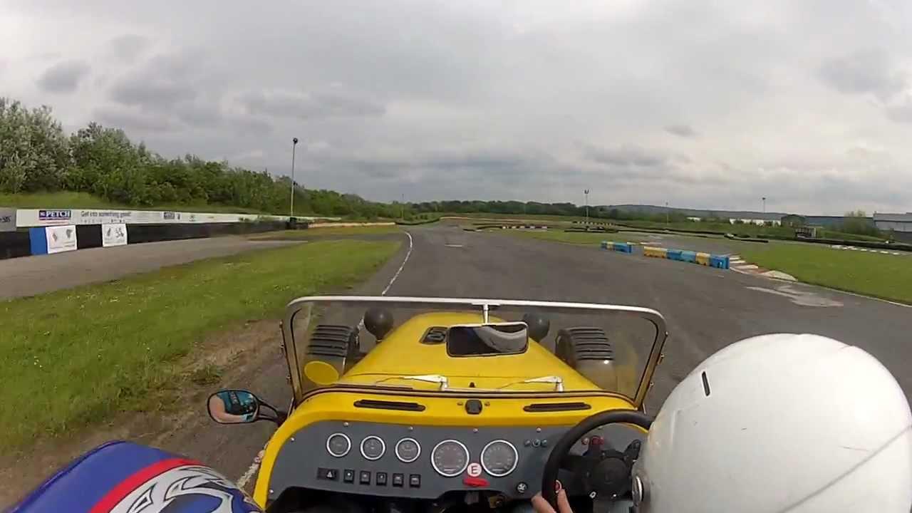 Part 4 4 Formula 27 Bike Engined Kit Car Teeside Autodrome 05 06