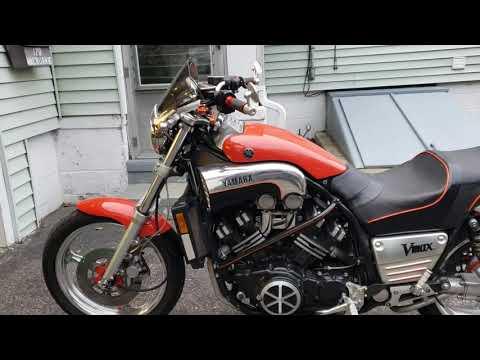 Yamaha V-Max 1986, Yamaha RD350 1973, Honda CBX1100 6 CYLINDER & Honda  CBR1000 2004