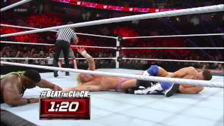 The Miz vs. Dolph Ziggler - Beat the Clock Challenge: Raw, Jan 21, 2013