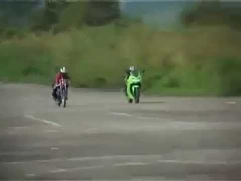 Kawasaki Ninja 250 vs Yamaha RX 135