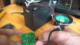 Распаковка и проверка усилителя из Китая на микросхеме TDA7297