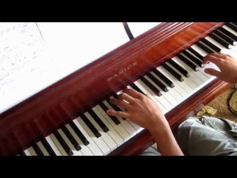 The Killers - Human piano cover