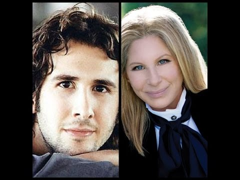 "Barbra Streisand with Josh Groban  ""Somewhere"""
