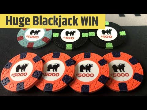 MEGA Blackjack Win - God Mode $20,000+