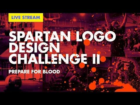🔴 Spartan Logo Design Challenge pt. 2— Recap and Critique Live!