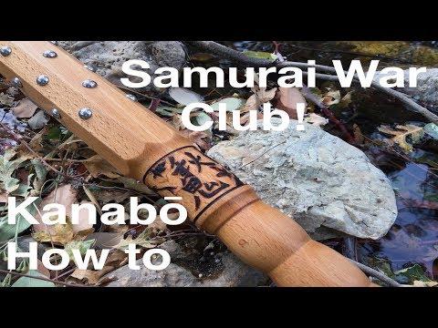 Samurai War Club! Making A Kanabō: Kodama Woodworks Episode 5