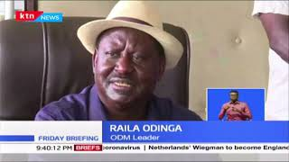 ODM Leader Raila Odinga scoffs at Kenya Union of Sugar Plantation for going to Court