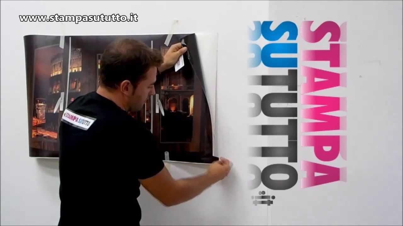 12 pezzi adesivo da parete a farfalla 3d. Come Applicare Adesivi Murali In Modo Semplice Youtube