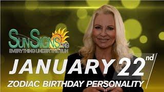 Facts & Trivia - Zodiac Sign Aquarius January 22nd Birthday Horoscope