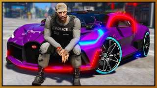 GTA 5 Roleplay - I BECOME HIGH SPEED BUGATTI DIVO COP UNIT | RedlineRP