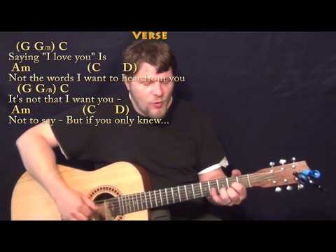 Guitar Chords And Lyrics More Than Words Read Download Video Mp3