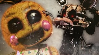 TOY CHICA VS MANGLE ЭПИЧНАЯ БИТВА АНИМАТРОНИКОВ 2 Five Nights at Freddy s 5 ночей с фредди