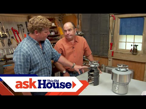 What Can and Can't Go Down a Garbage Disposer | Ask This Old House