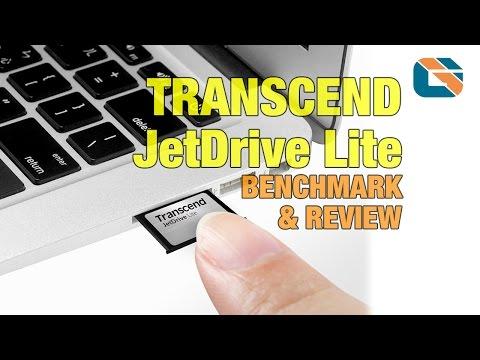 Transcend JetDrive Lite 360 Expansion Card Benchmark & Review