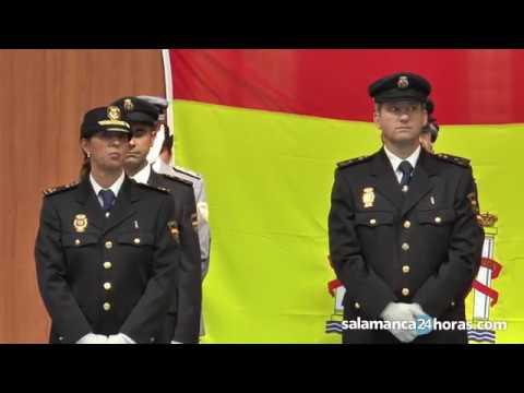 La Policía Nacional celebra su día en Salamanca