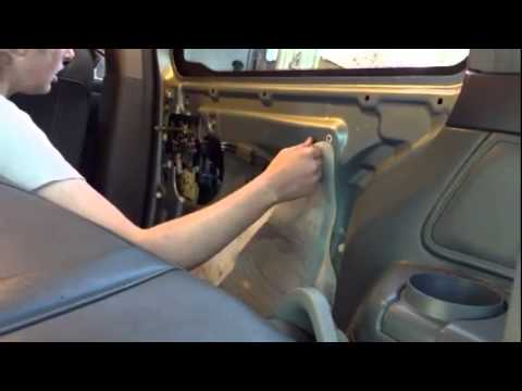 Replacing Power Door Lock Actuator On Sliding Doors For 2004 Honday Odyssey Youtube