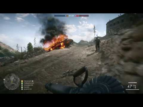 "Battlefield 1 - TDM - ""Austro-Hungarian Empire"" vs ""Kingdom of Italy"""