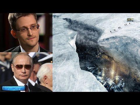 """Race To Antarctica"" Putin VS Snowden! World On Brink Of UFO Disclosure! 2017-2018"