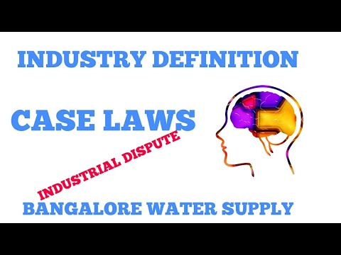 Part 3 || Industrial Dispute|| Industry Definition|| Case laws || LLB ,CS|| LABOUR LAW