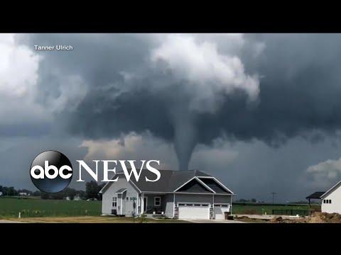 Dangerous Storms Wreak Havoc On Southern States