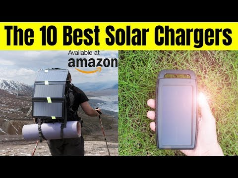 The best solar charger on Amazon || The 10 Best Solar Chargers in 2019