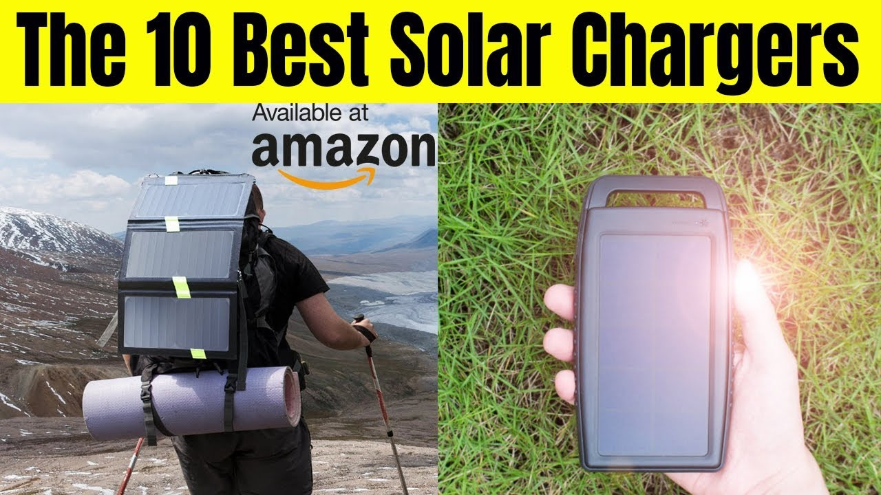 The best solar charger on Amazon || The 10 Best Solar