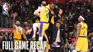 LAKERS vs CLIPPERS | Alex Caruso Leads The Way For The Lakers  | April 5, 2019
