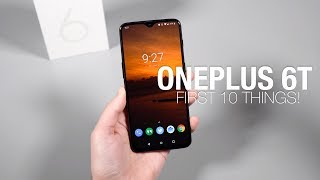Download OnePlus 6T: First 10 Things to Do! Mp3 and Videos